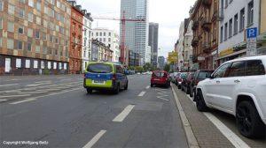 Polizei in Frankfurt ignoriert Falschparker