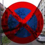 Parken verboten Gruenflaeche